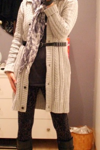Say hello to my new cardigan!