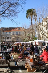 Travel // Flea markets of Antibes, France
