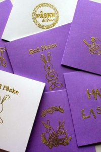 Make your own Easter cards