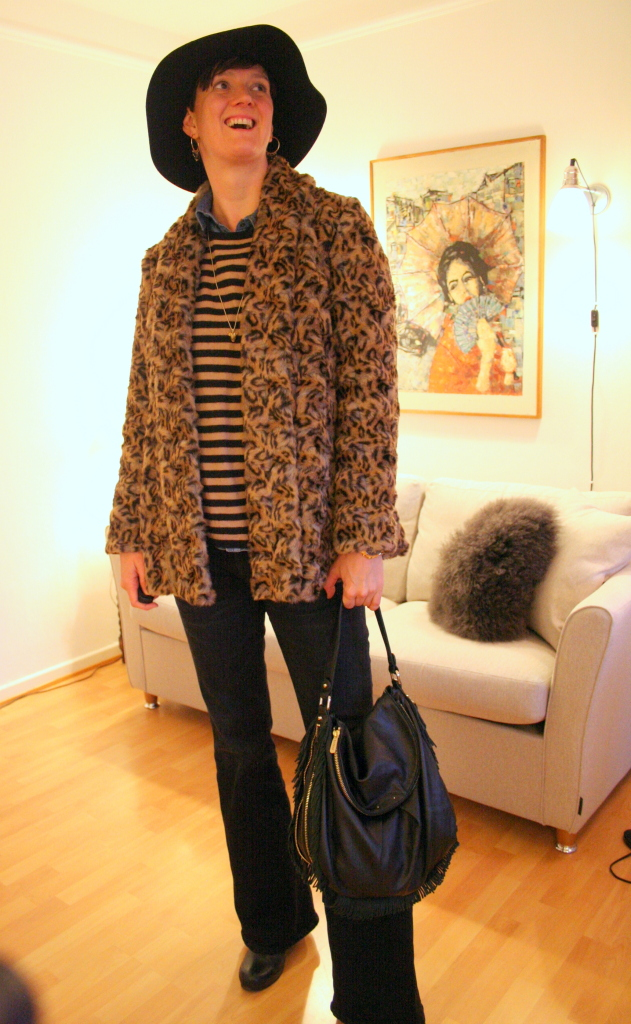 Tall girls' fashion // Leopard and flares
