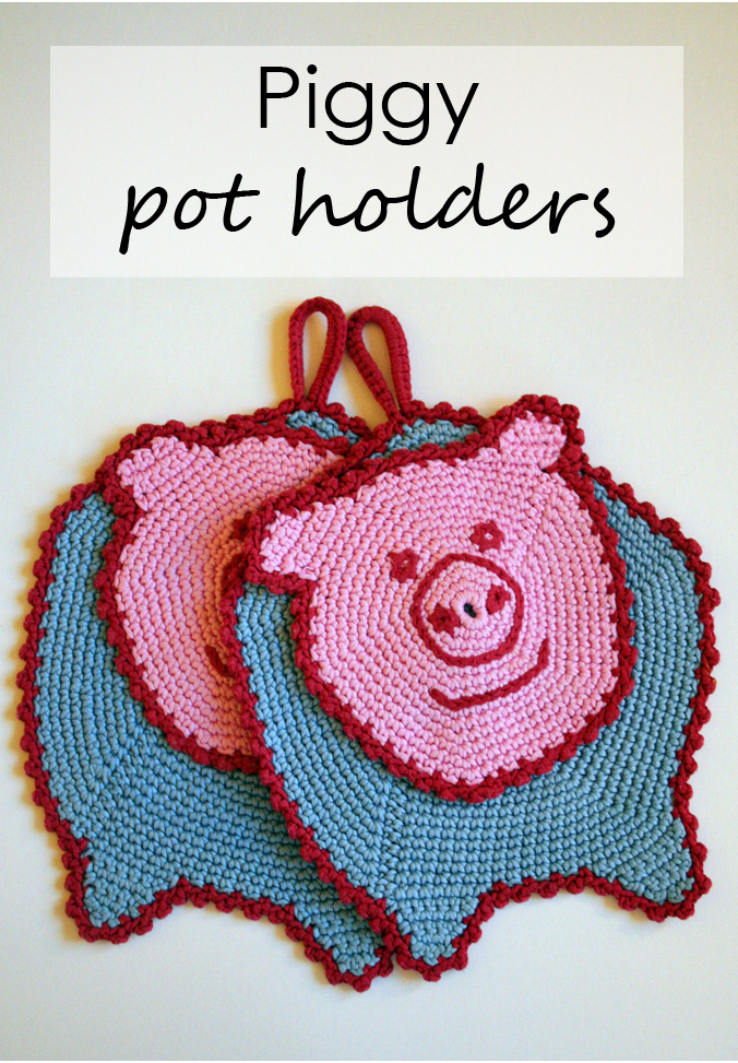 Tall girl's fashion // DIY for crocheted pot holders