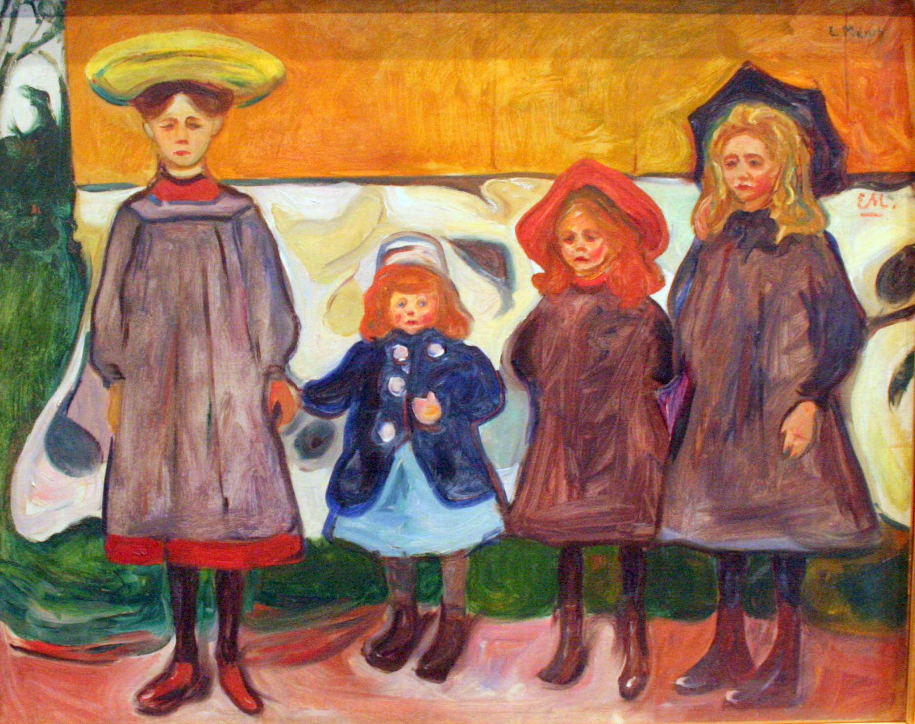 Tall girl's fashion // The Munch Museum, Oslo