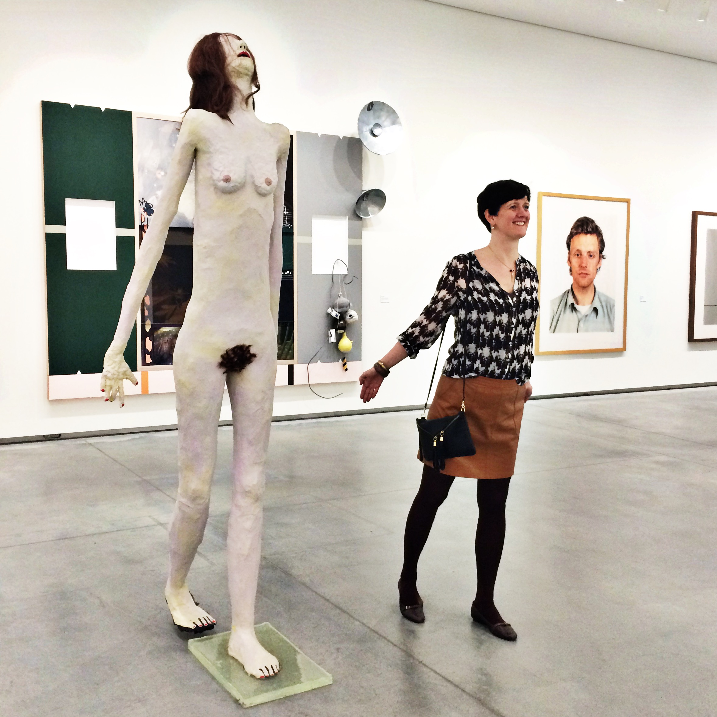 Tall girl's fashion // Friends, food & museums