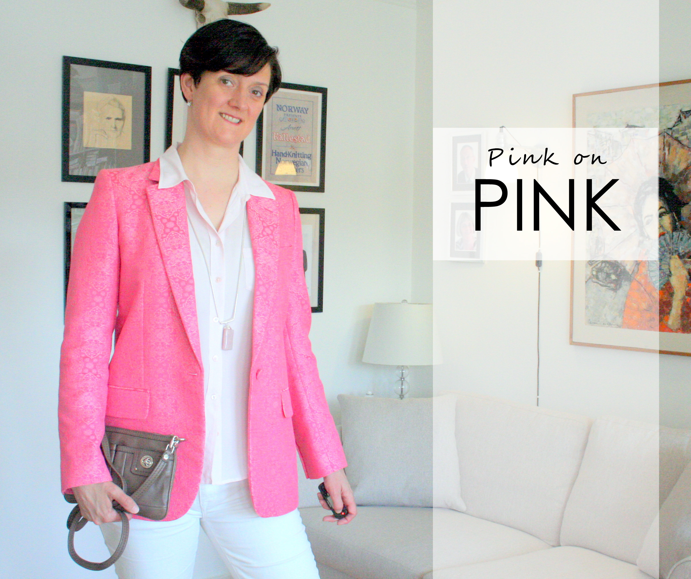 Tall girl's fashion // Pink on pink