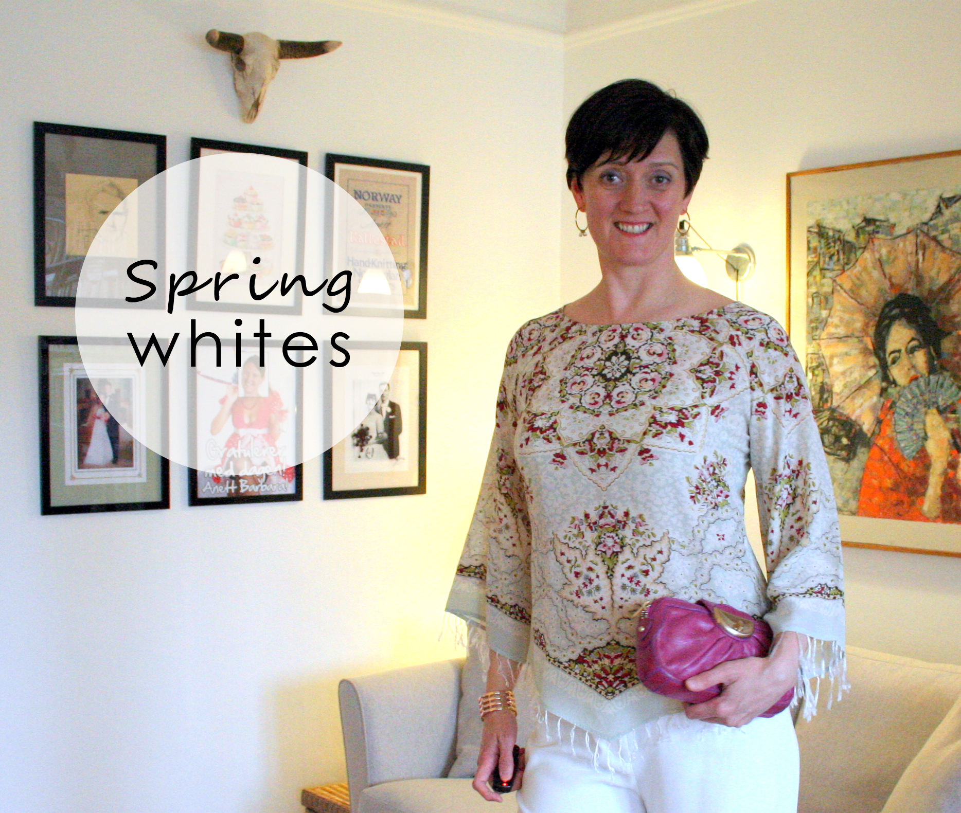 Tall girl's fashion // Spring whites