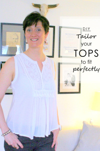 How To Tailor Tops To Fit a Tall Body