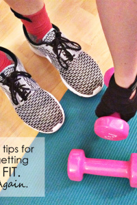 10 Tips For Getting Fit. Again