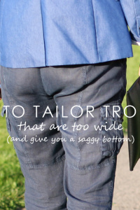 How To Tailor Your Trousers