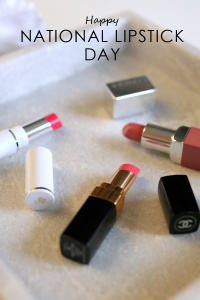 Happy National Lipstick Day