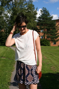 Finding The Perfect Slouchy T -Shirt
