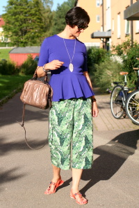 Styling Printed Culottes
