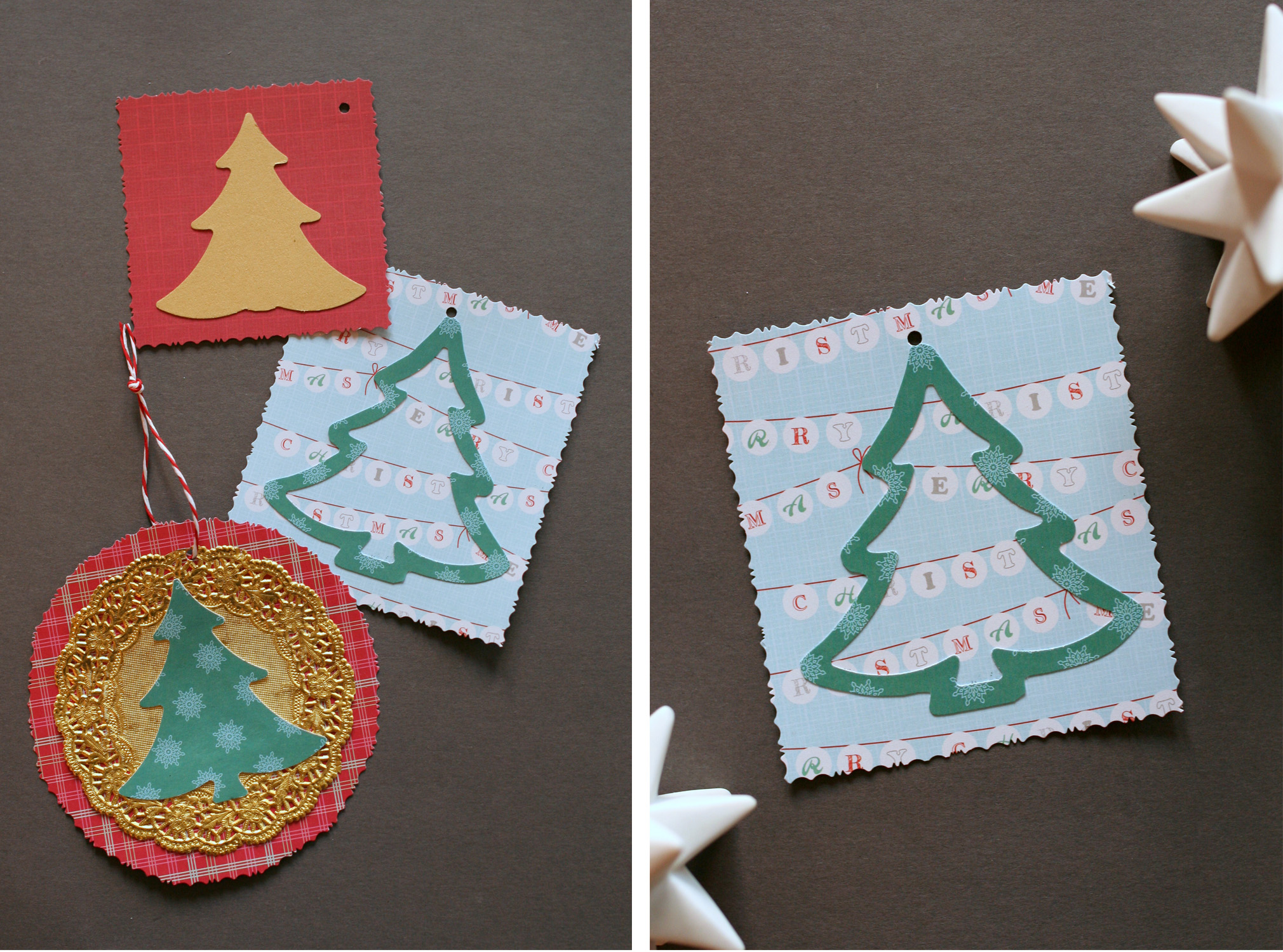 Tall Girl's Fashion // Make your own gift tags