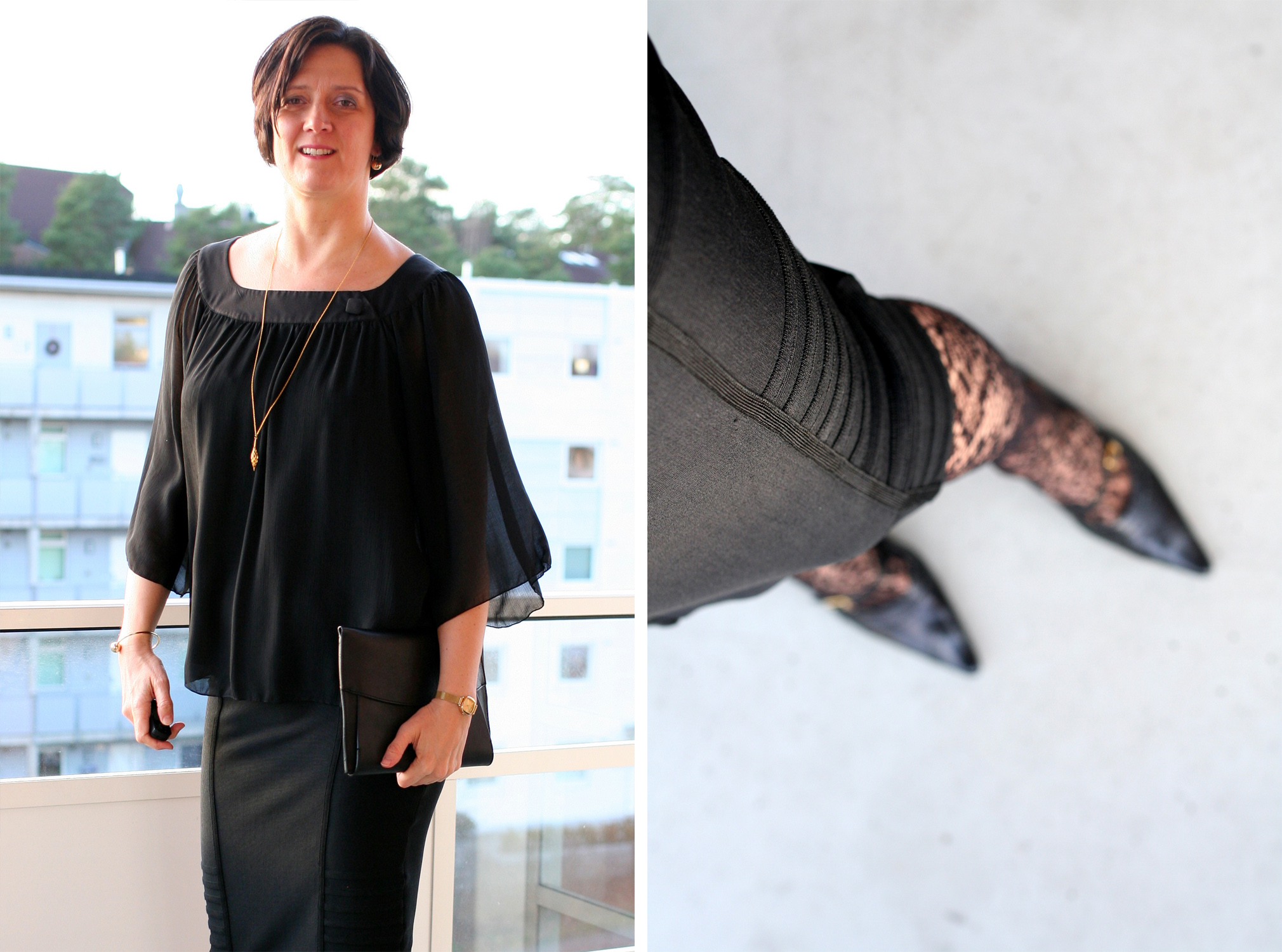 Tall Girl's Fashion // How to style a bandage skirt