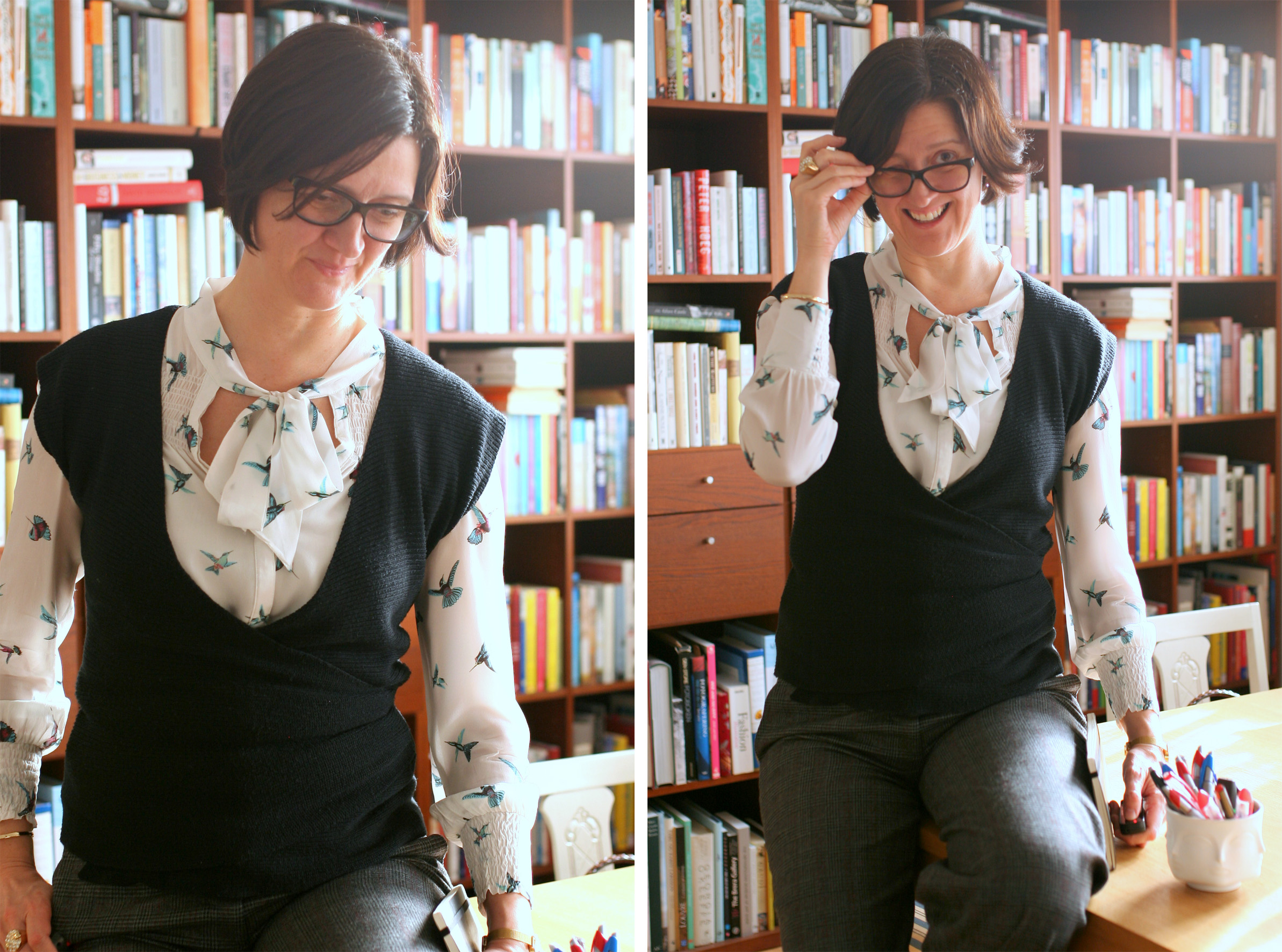 Tall Girl's Fashion // Librarian chic